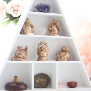 Mini Gold Buddha