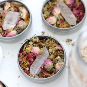Charisma Aura Bath Herbal Tins